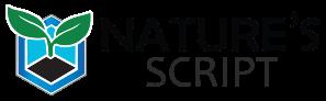 Premium Hemp Products Natures Script Logo