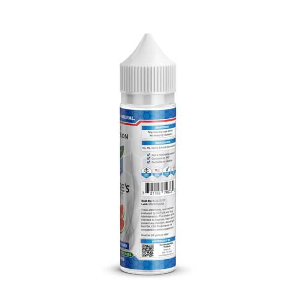Nature's Script CBD E-Liquid Back