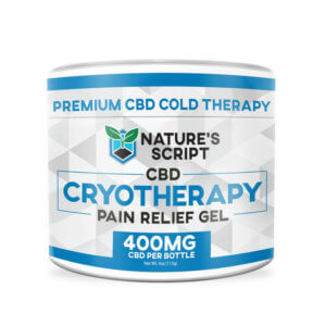 CBD Pain Gel 400mg front