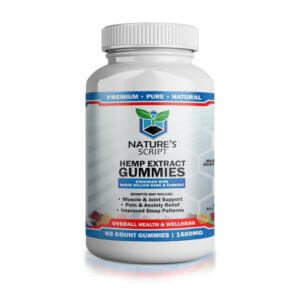 Nature's Script High Potency CBD Gummies