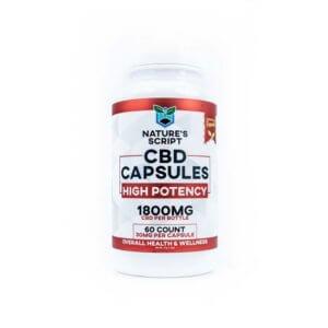 high potency cbd capsules