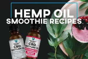 CBD Hemp Oil Smoothie Recipe Preview