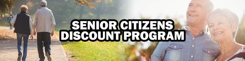 Senior Citizens CBD Discount Program