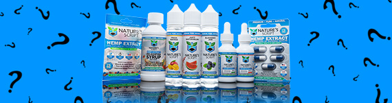 natures script cbd products banner
