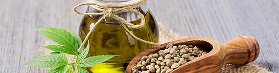 hemp seed oil banner