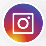 large instagram icon