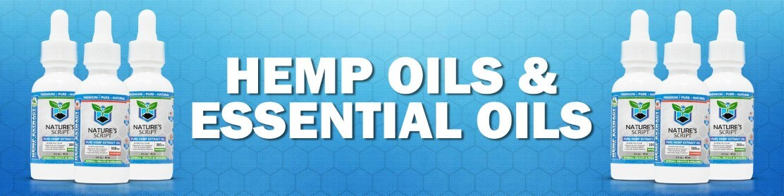 Hemp Oils & Essential Oils