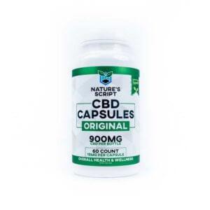 cbd capsules 60 count