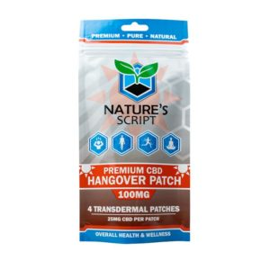 Nature's Script CBD Hangover Patches