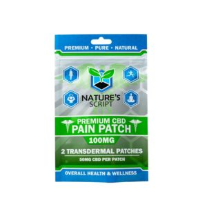 Nature's Script CBD Pain Patches