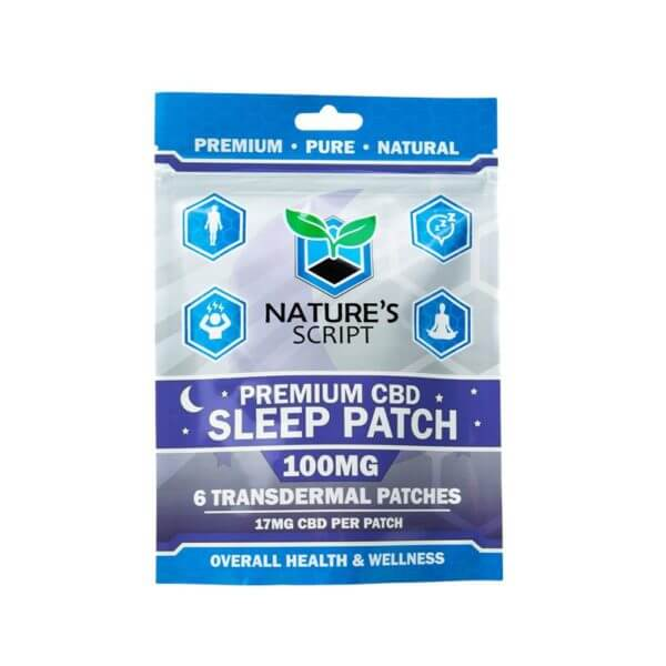 Nature's Script CBD Sleep Patches