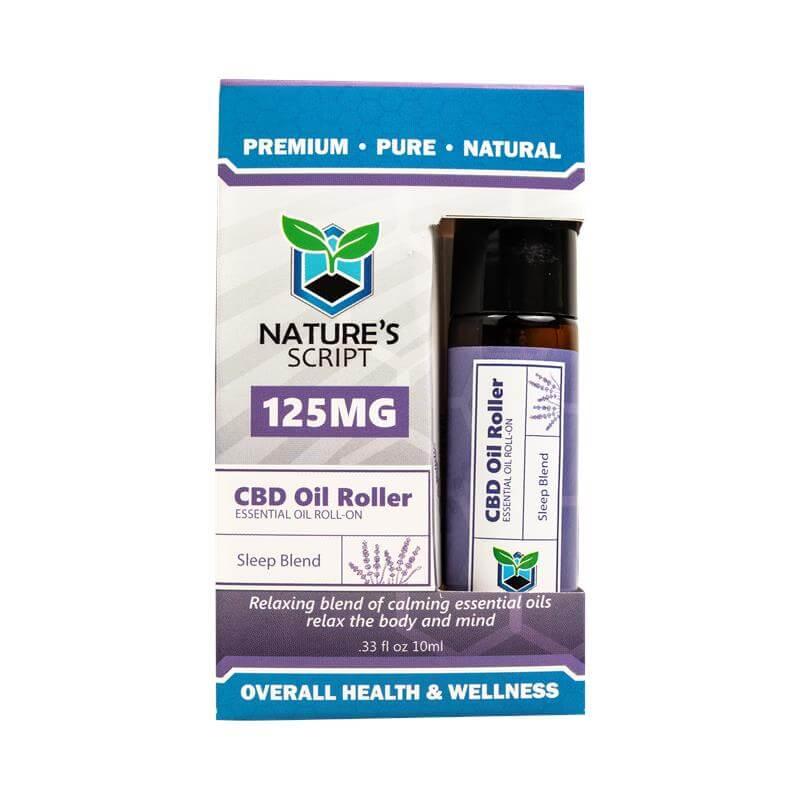 CBD Essential Oil Roller - Sleep Blend
