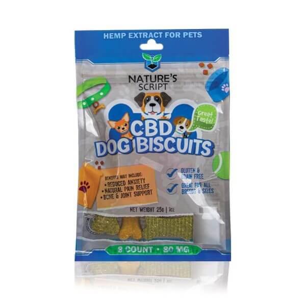 Nature's Script CBD Dog Biscuits