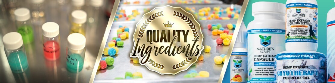 Quality CBD Ingredients