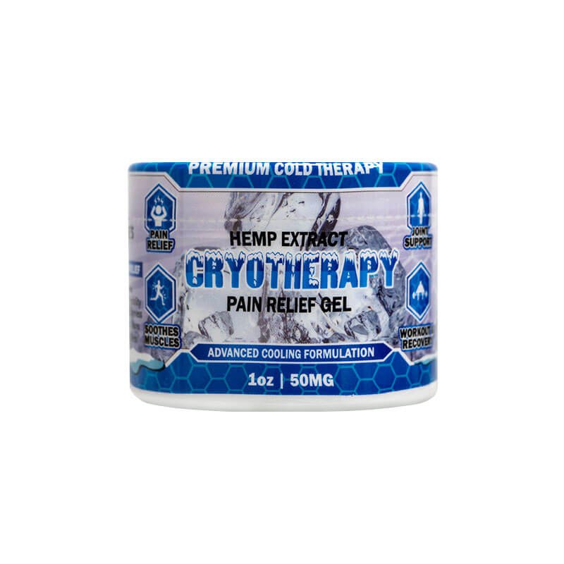 CBD Pain Freeze 1oz front