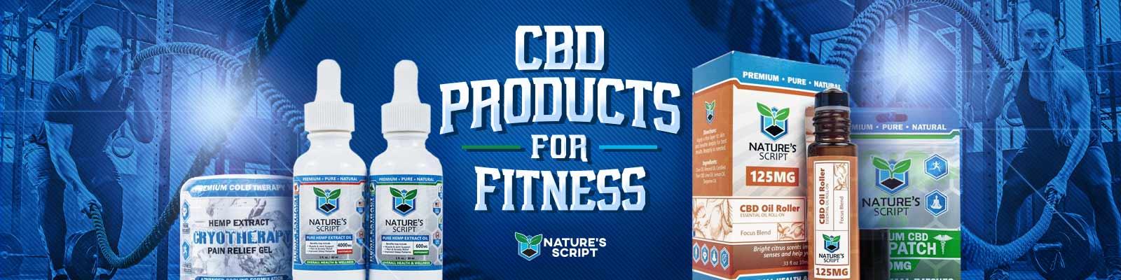 cbd for fitness banner