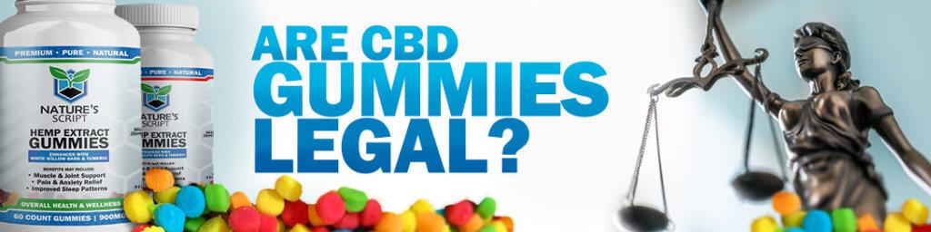 are cbd gummies legal banner