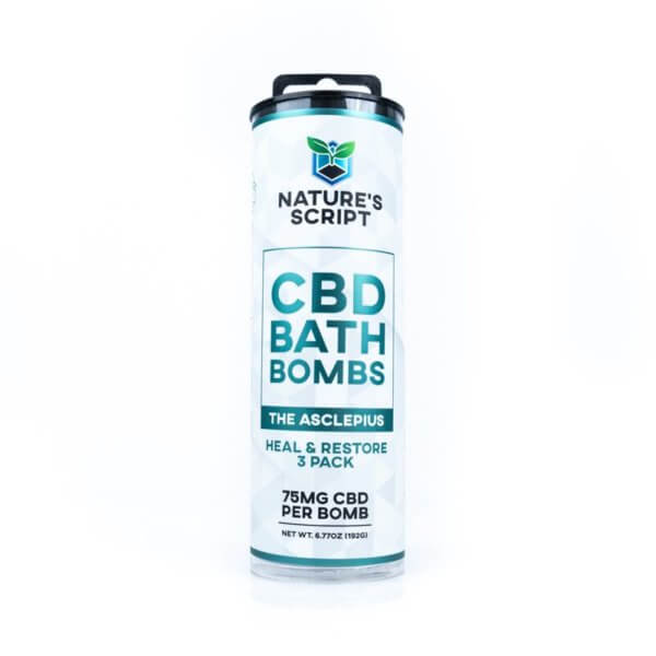 cbd bath bomb heal