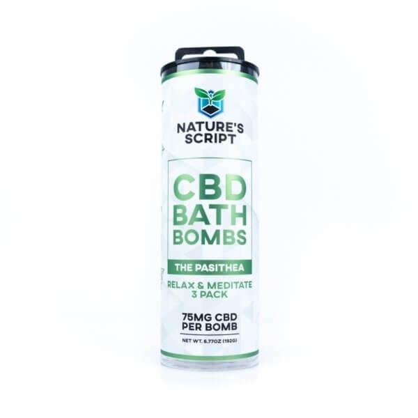 cbd bath bomb relax