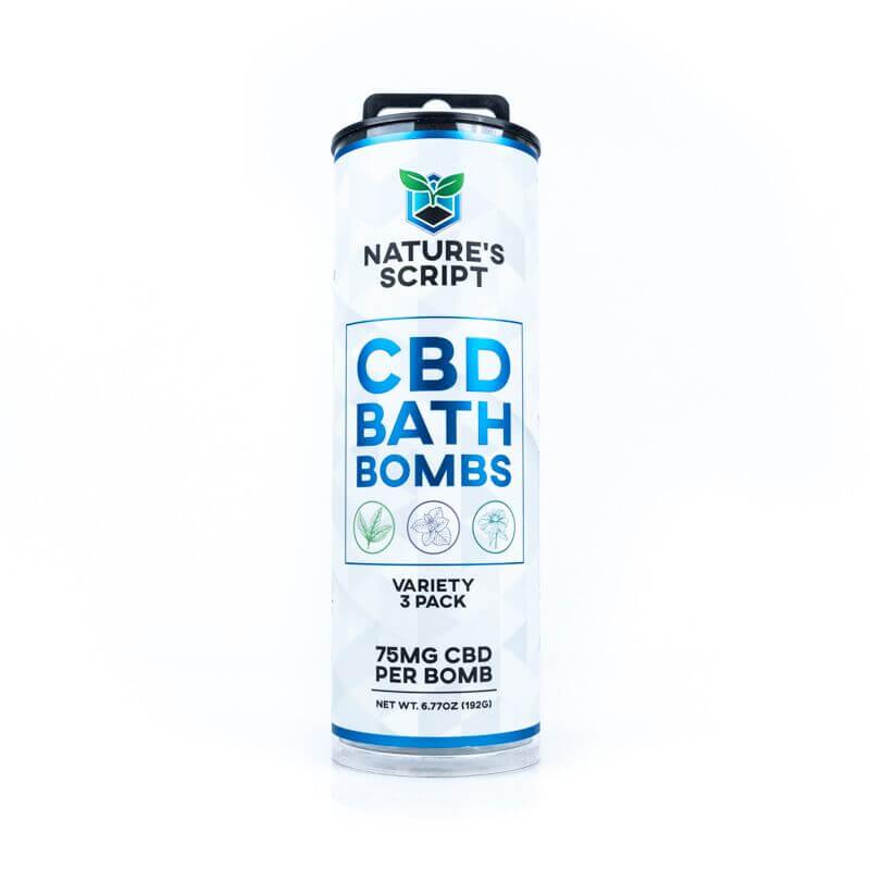 cbd bath bombs variety pack