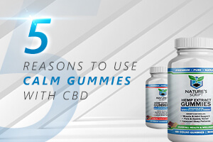 five reasons to use calm gummies with cbd featured image