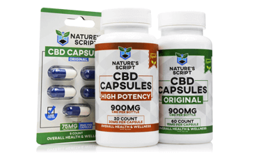 Best CBD products: CBD Capsules