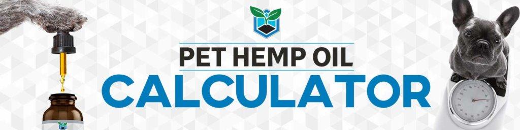 Pet Hemp Oil Dosage Chart
