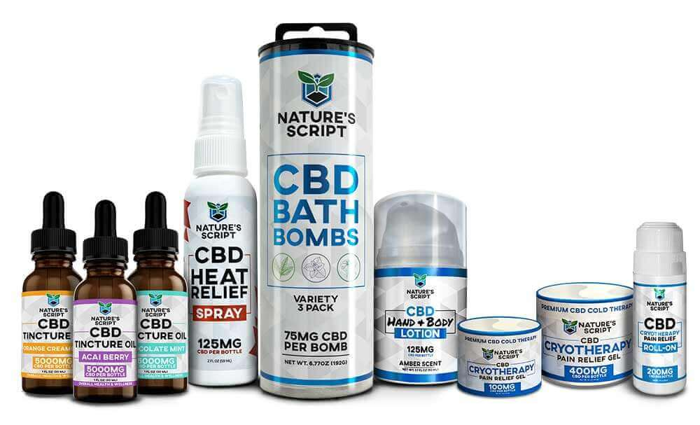 CBD Products from Nature's Script