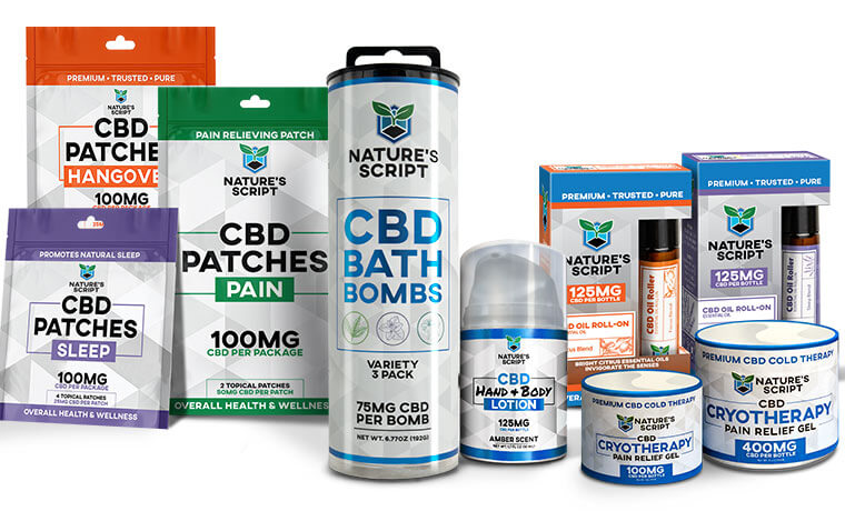 Best CBD products: CBD Topicals