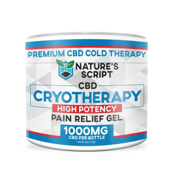 High Potency CBD Pain Gel 1000mg