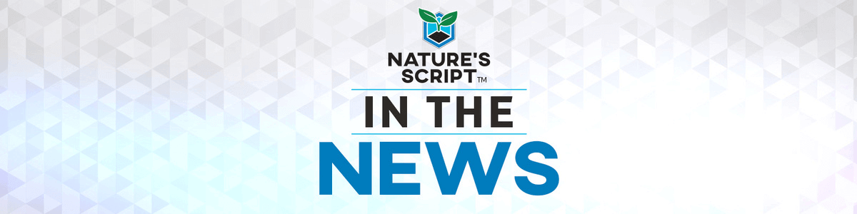 In the News Natures Script Banner