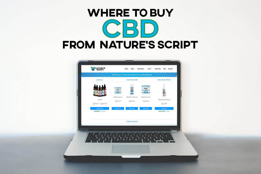 Where to buy CBD from Nature's Script