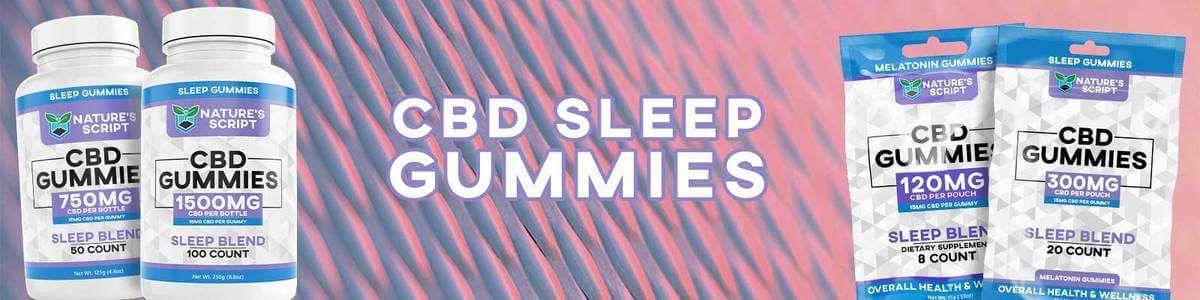 CBD Sleep Gummies Banner