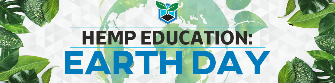 Hemp Education Earth Day Banner