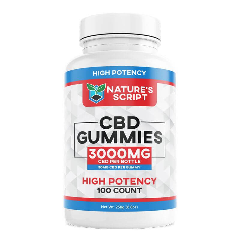 high potency cbd gummies 100 count