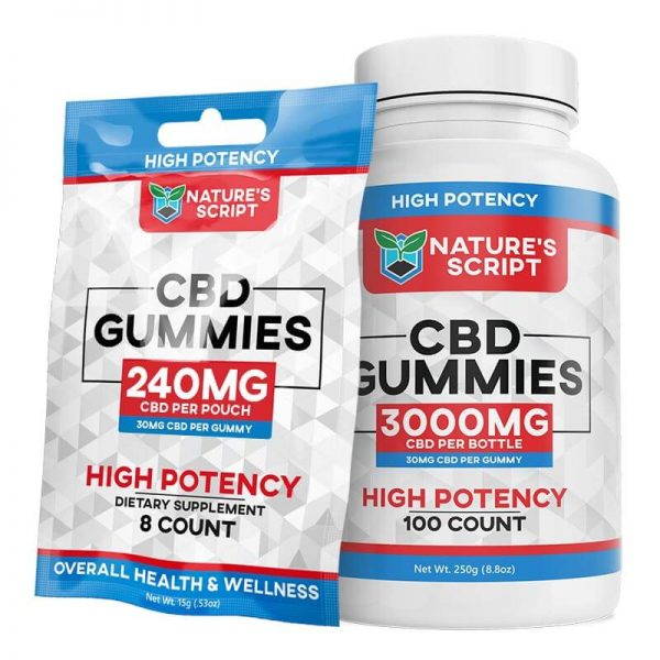 High Potency CBD Gummies
