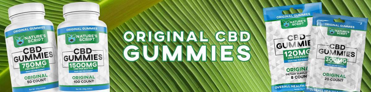 Original CBD Gummies Banner