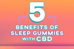 5 Benefits of Sleep Gummies with CBD Banner Preview