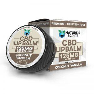 Nature's Script CBD Lip Balm