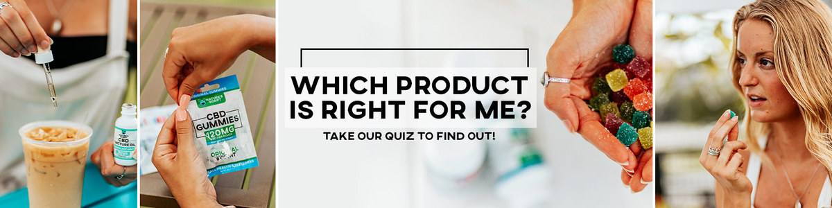 CBD Product Finder Quiz