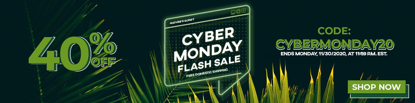 Cyber Monday CBD Products Sale