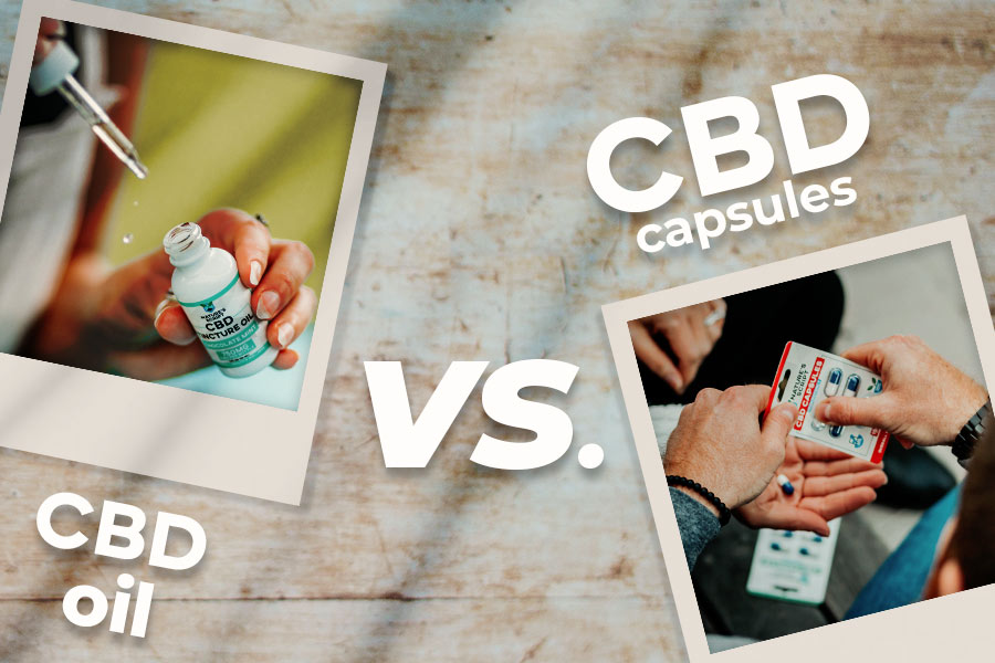 CBD Capsules vs. CBD Oil