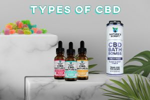 CBD Products Guide - Types of CBD Products