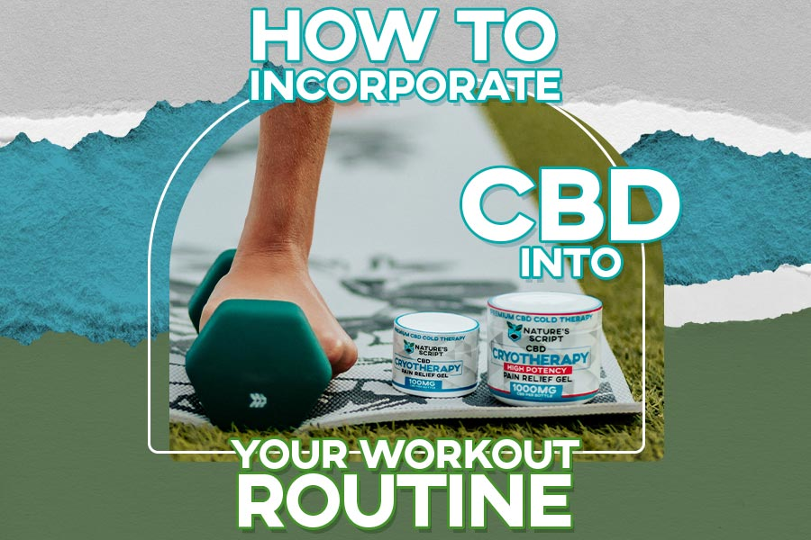 CBD and Working Out - Exercise with CBD