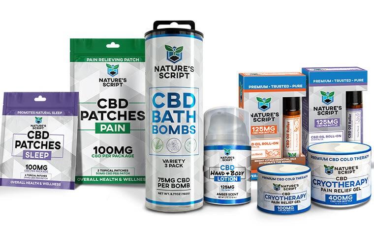 Best CBD products: CBD Topicals